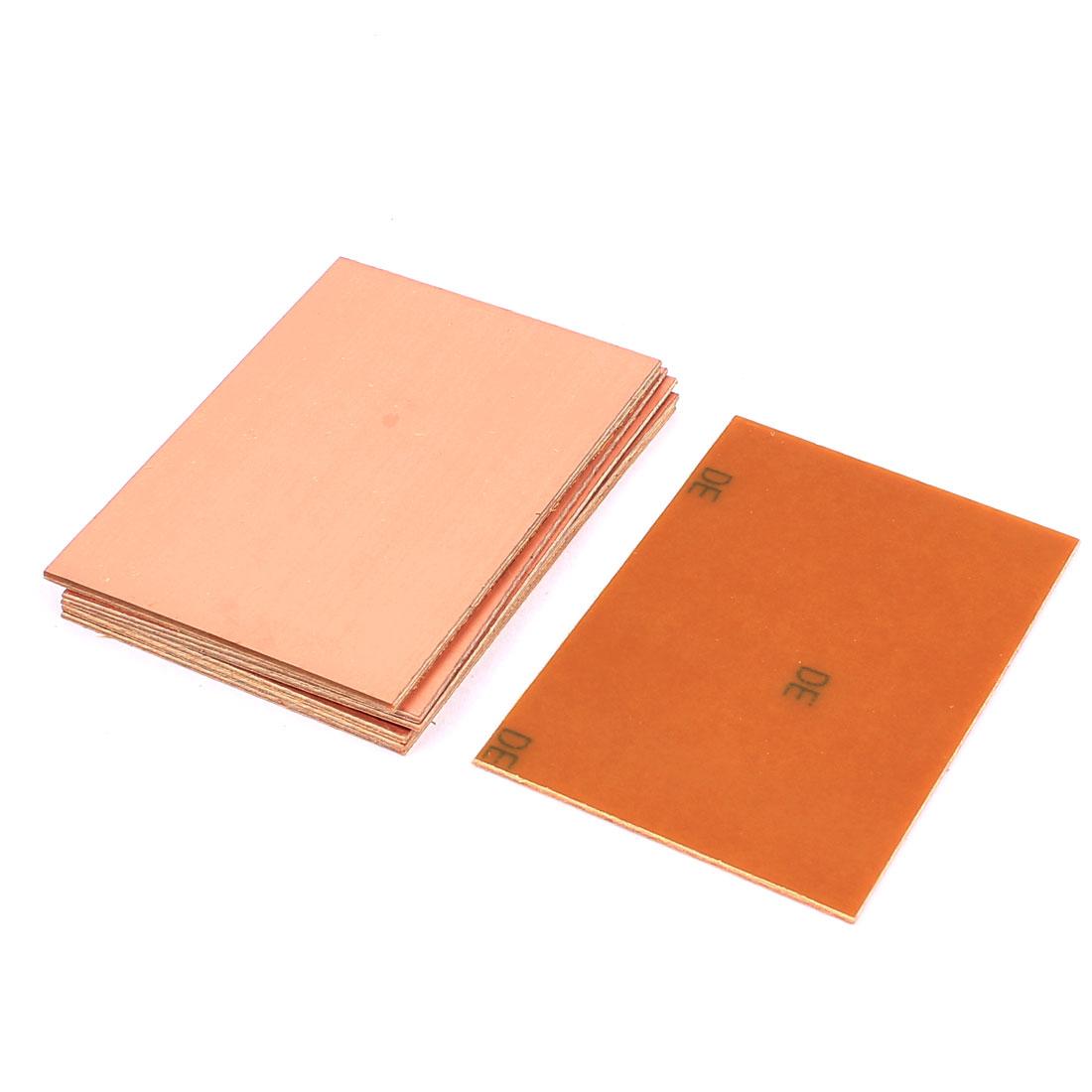 8 Pcs DIY Single Side Copper Plated Prototype Paper PCB Board 10cmx7cm