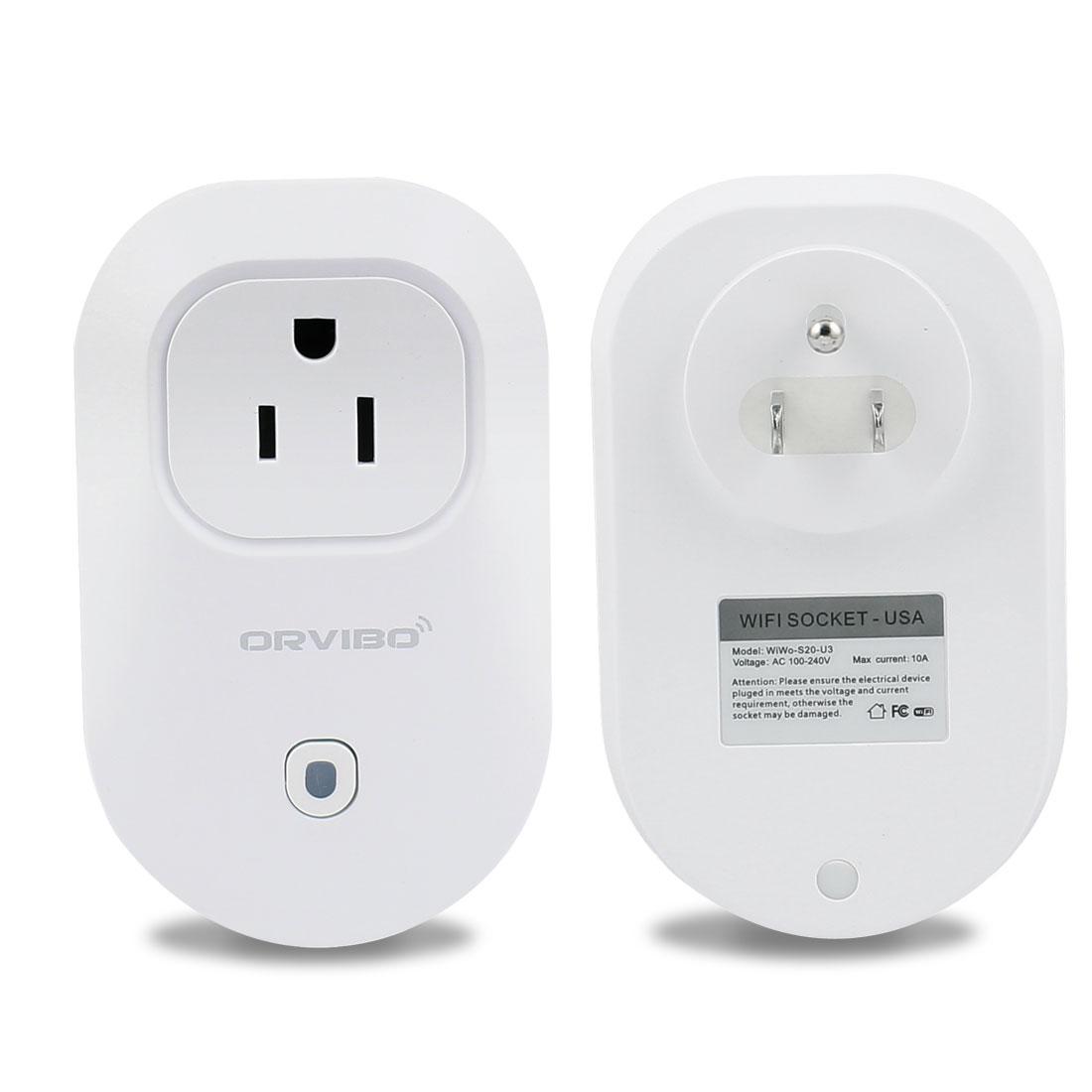 AC 100V-240V US Plug Smart Digital Remote Control WiFi Timer US Socket Outlet Switch