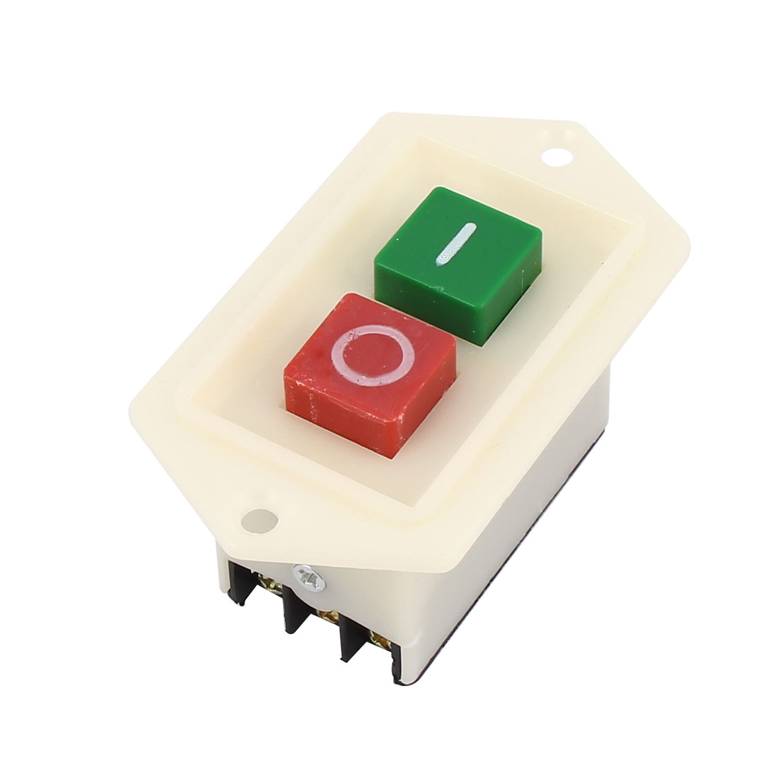 AC 380V 10A ON/OFF 2 Position 3 Phase Power Push Button Switch LBC3-10