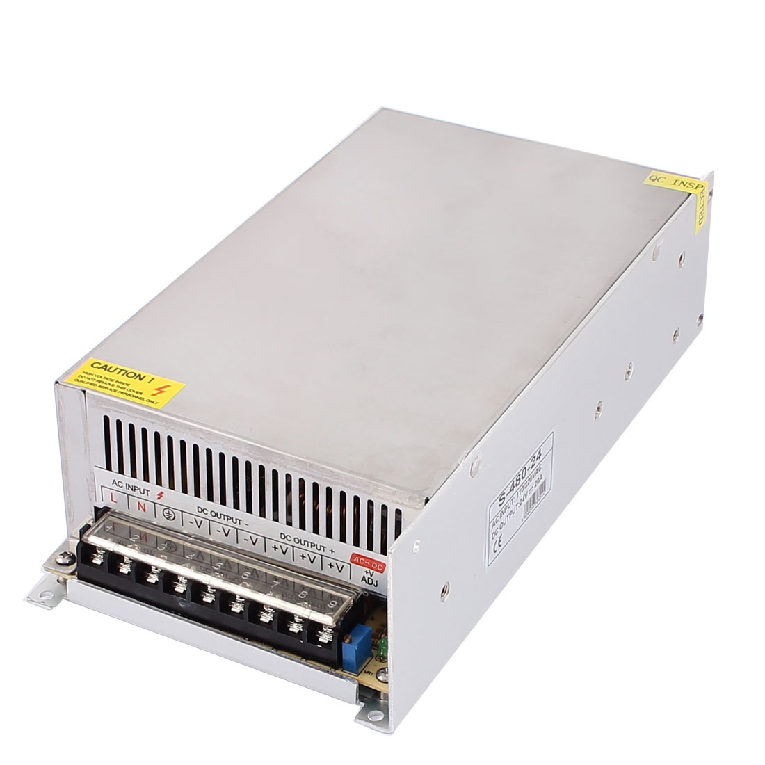 DC 24V 20A 480W 9 Terminals Power Supply Switching Converter for LED Strip Light