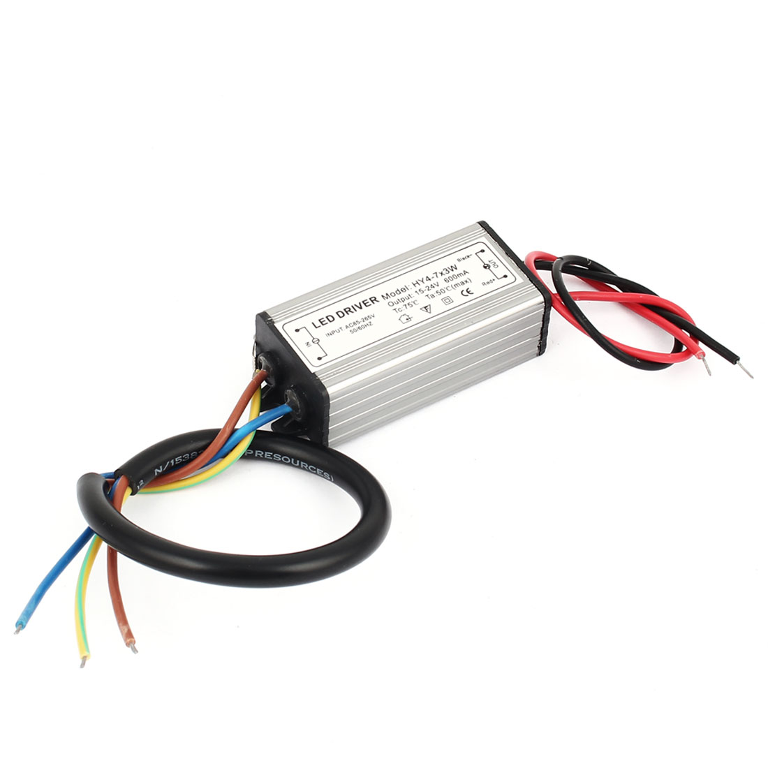 21W Power Supply AC 85-265V Input DC 15-24V 600mA Output LED Driver
