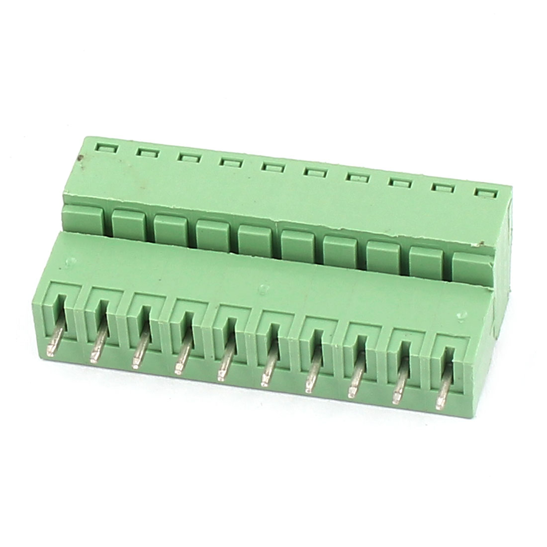 250V 6A 10-Pin 3.74mm Spacing PCB Mount Terminal Block Connector