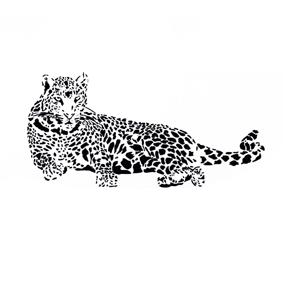 Leopard Pattern Removable Wall Sticker Decal Wallpaper Room Decor