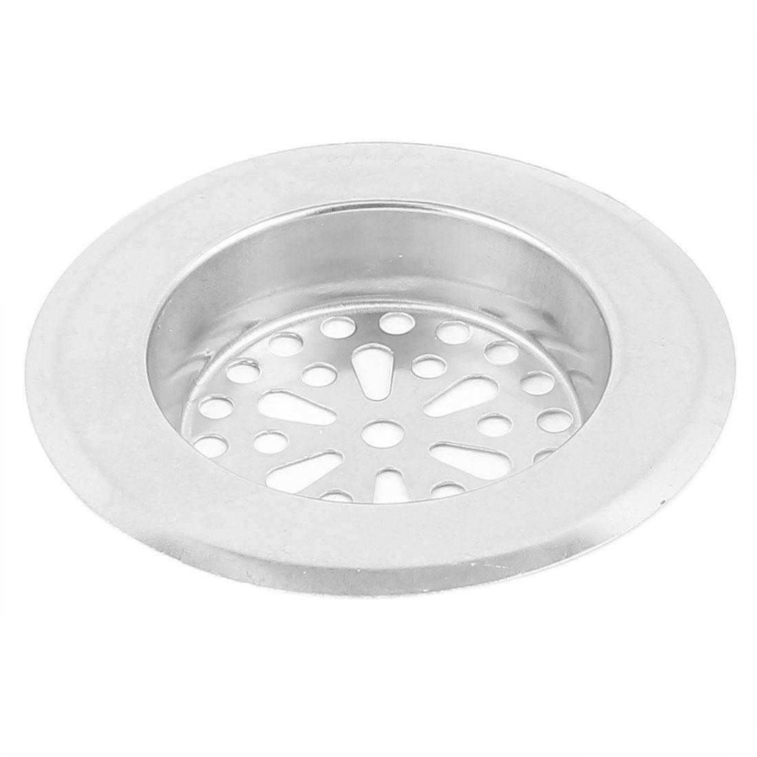 Bathroom Kitchen Stainless Steel Sink Strainer Drainer Filter Stopper 80mm Top Dia