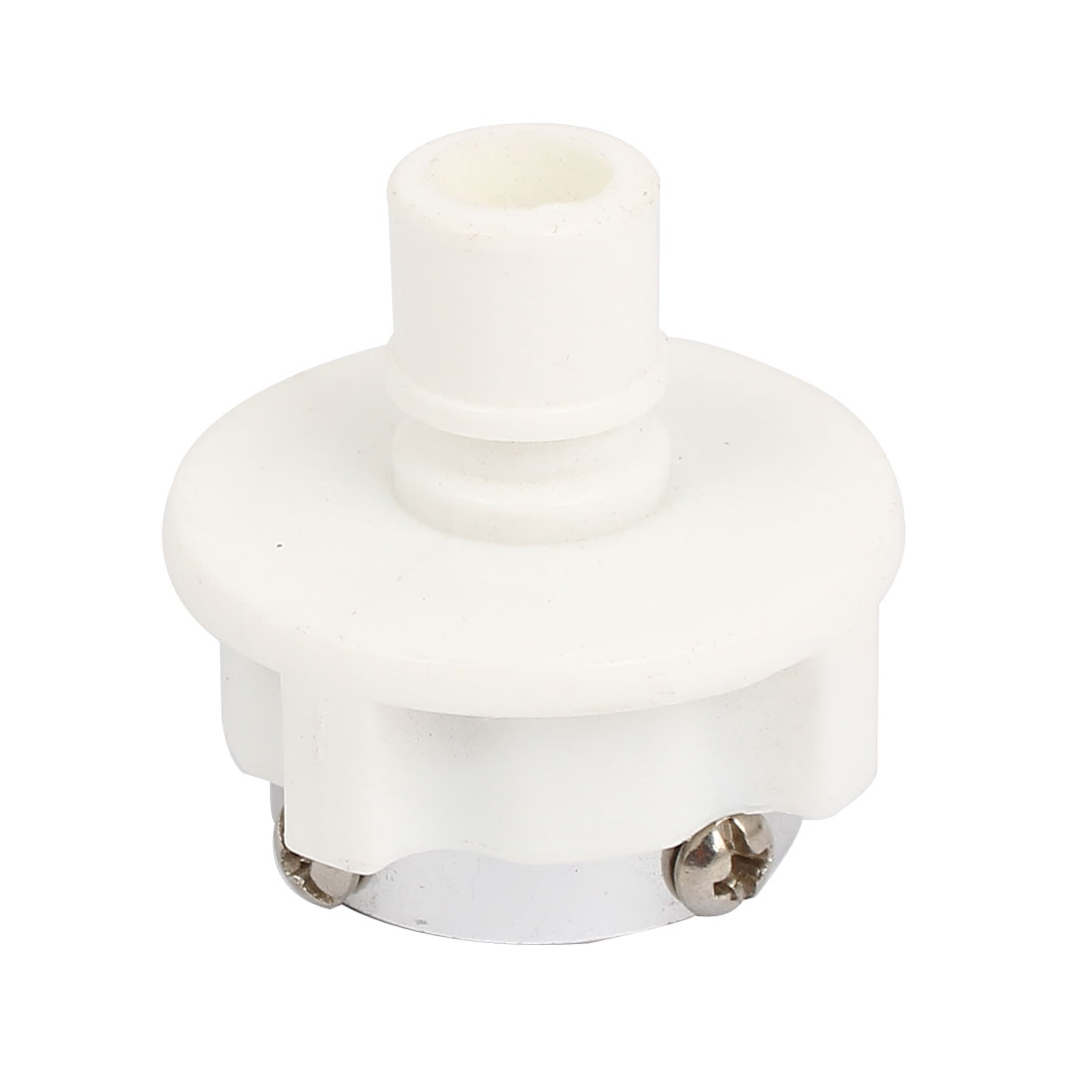 Washing Machine Washer 15mm Inlet Pipe Water Fill Hose Connector Adapter White