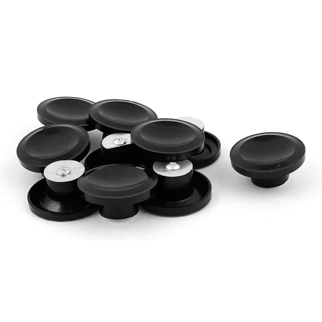Cooker Cooking Utensils Plastic Pot Pan Grass Cover Lid Helper Handle Knob 55mm Dia 10pcs