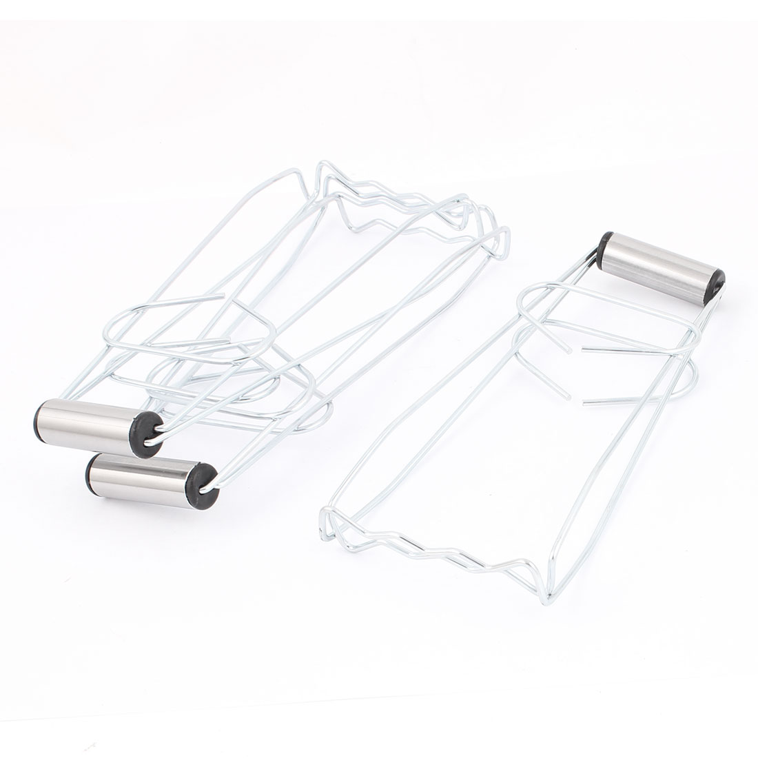 Kitchen Metal Anti-Scald Plate Bowl Dish Pot Holder Carrier Clamp Clip 3PCS