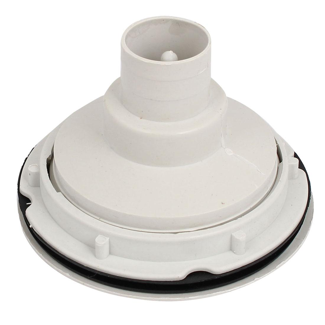 11cm Dia Round Shaped Kitchen Wash Basin Sink Drain Stopper Strainer White