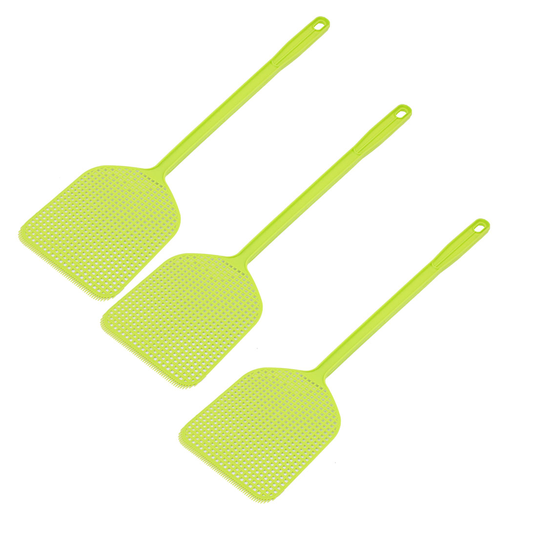 Fly Bug Swatter Insect Mosquito Swat Wasp Pest Control Hand Zapper Green 3PCS