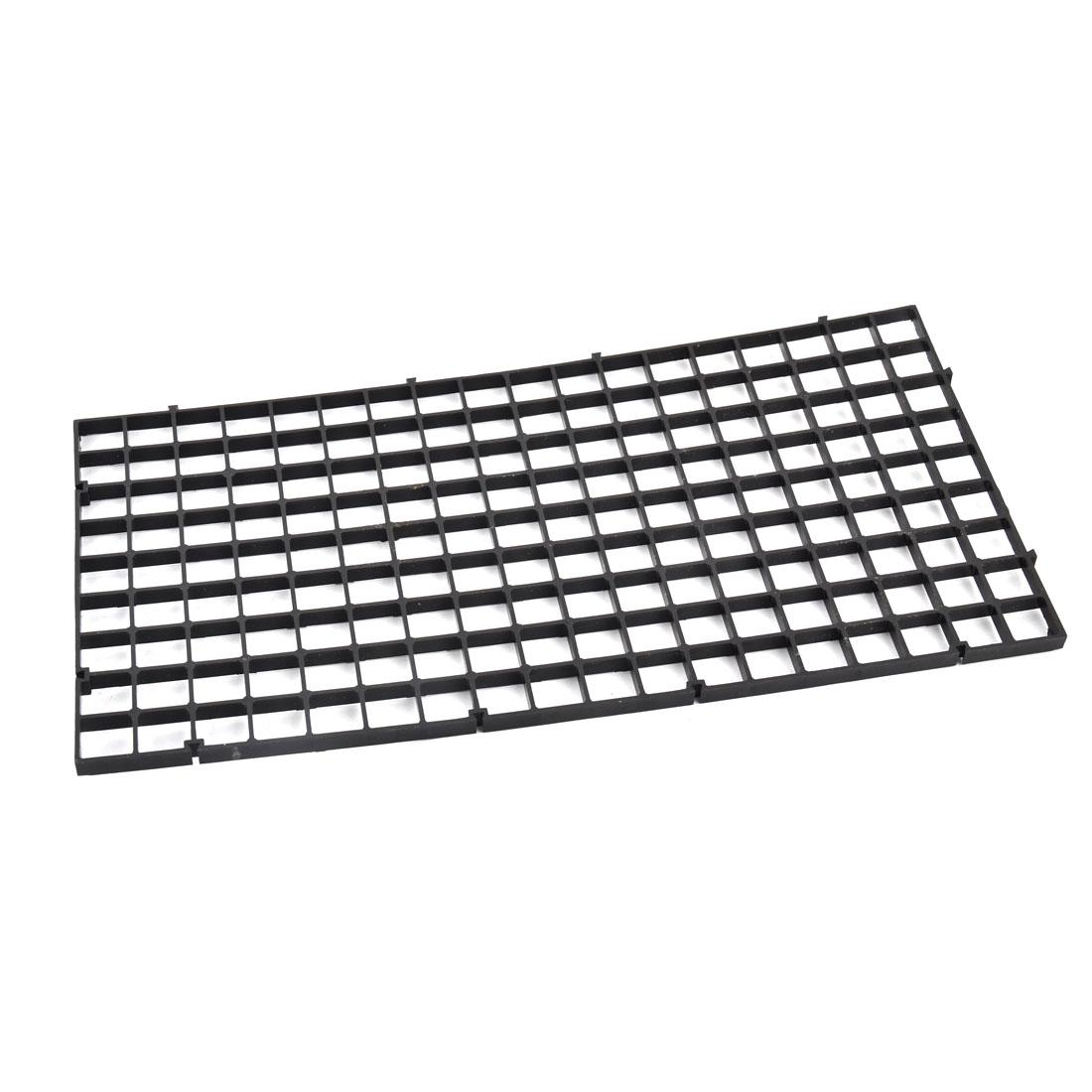 Aquarium Fish Tank Fry Screen Egg Net Crate Separate Divider Board Black