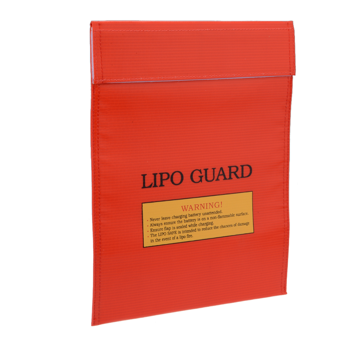Lipo Battery Fireproof Explosionproof Bag Storage Guard Safe Charging Holder 23cm x 30cm Red