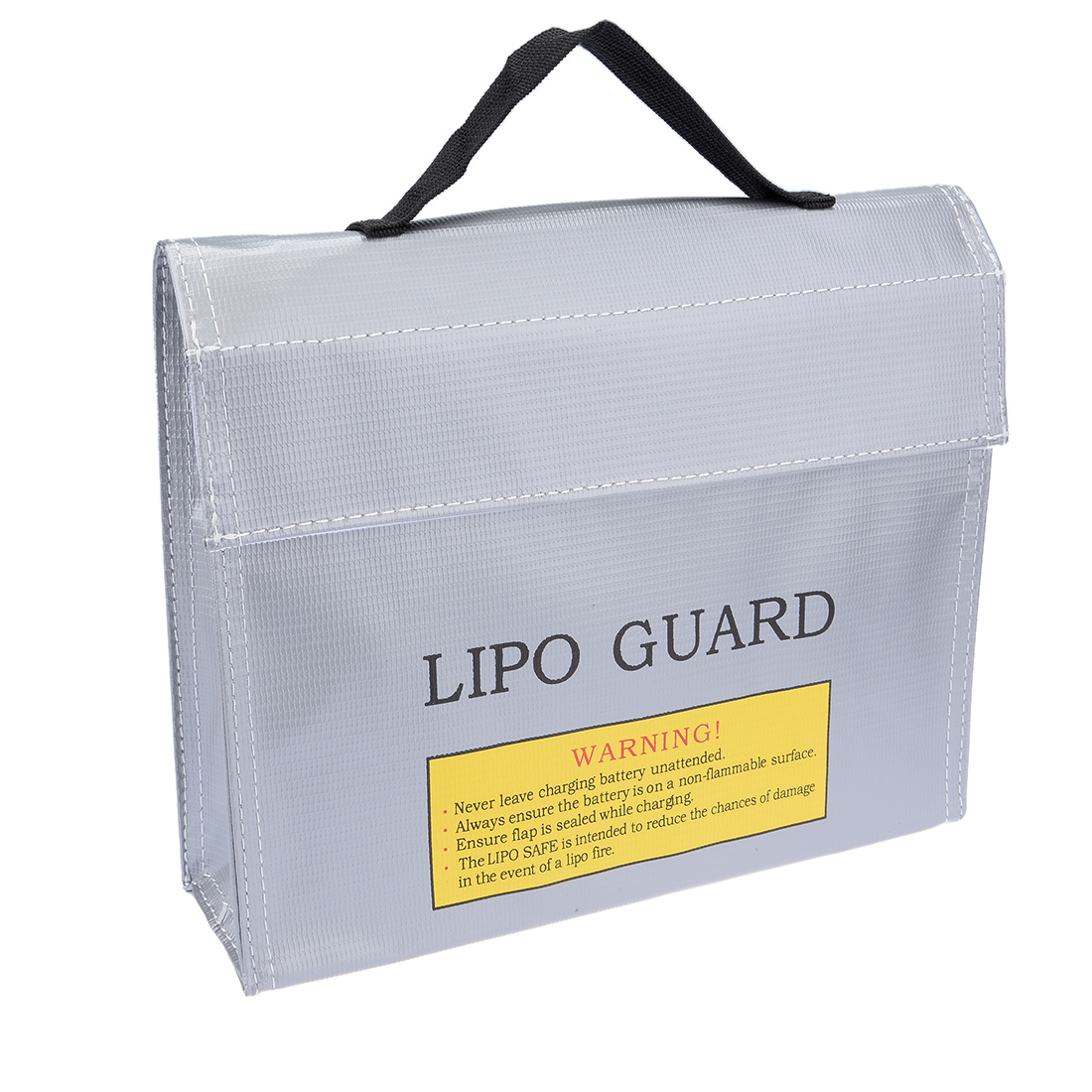 Lipo Battery Fireproof Explosionproof Bag Storage Guard Safe Charging Holder 215mm x 45mm x 165mm