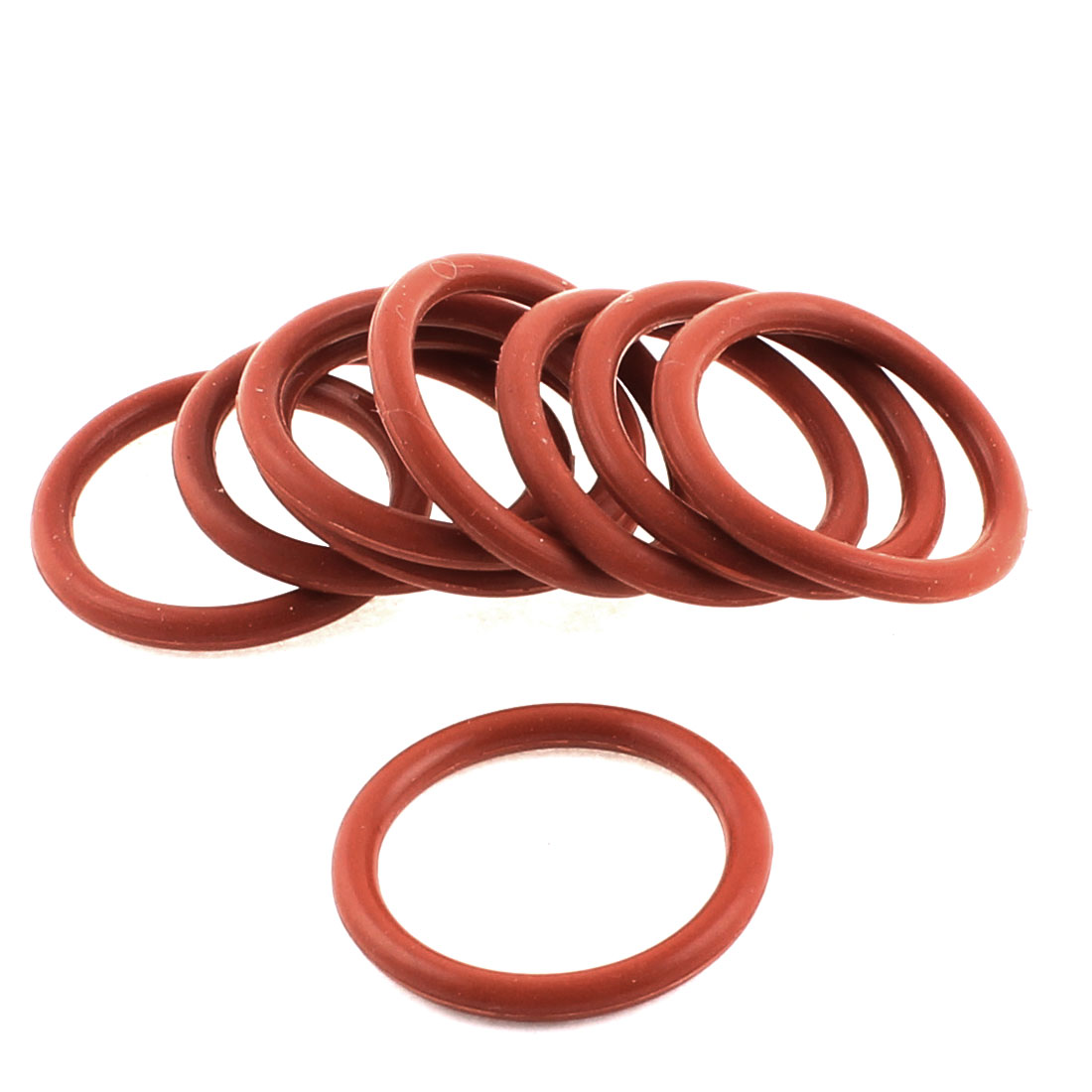 9Pcs Red Nitrile Rubber Grommets Oil Sealing Gaskets Washers O Rings 29mm x 3mm x 23mm