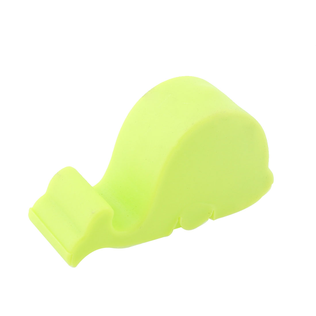 Green Plastic Dolphin Shaped MP4 Cellphone Phone Stand Holder Rack Bracket
