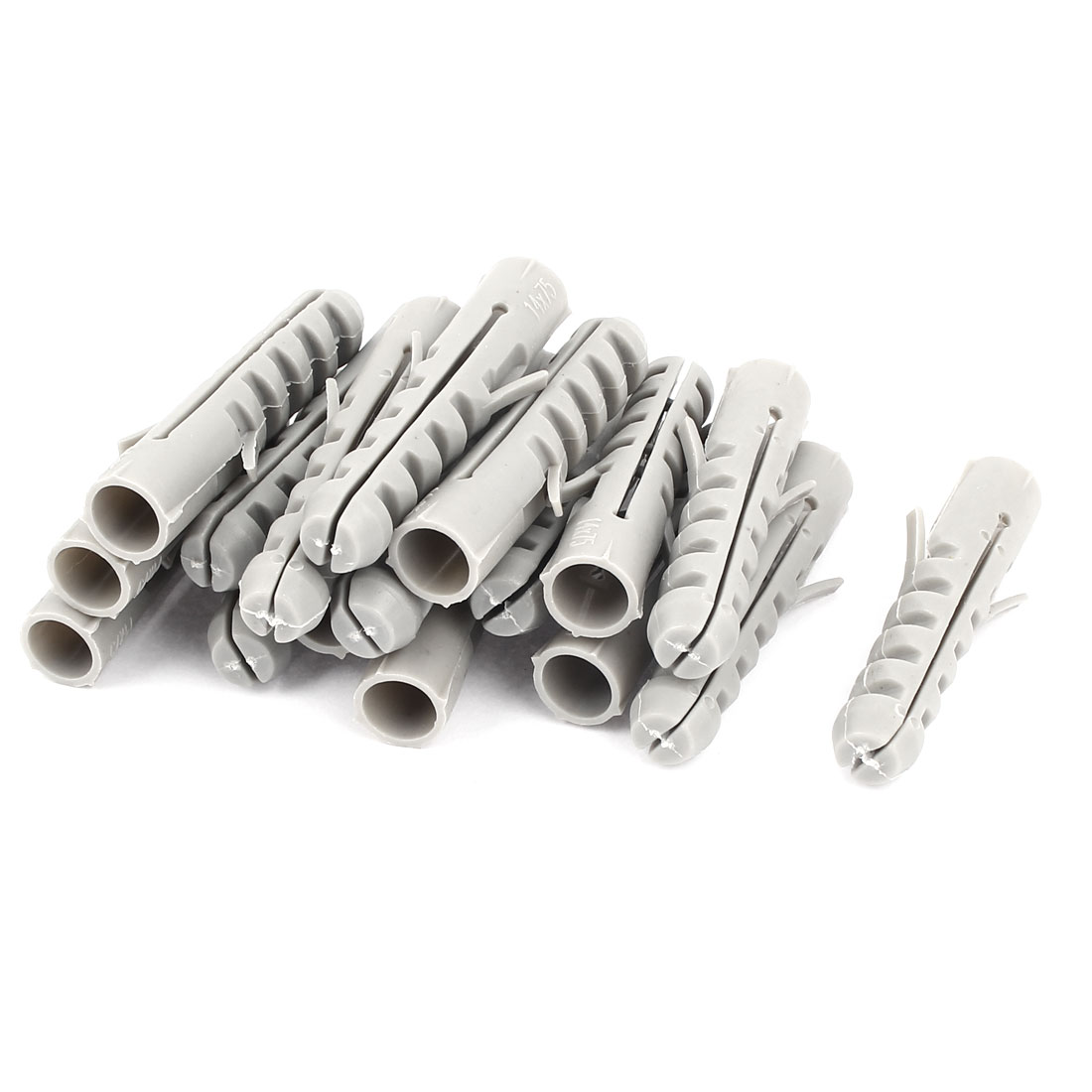 17pcs 14mm x 70mm Plastic Expansion Nails Hollow Wall Anchor Expandable Tube Connector Screws Bolts