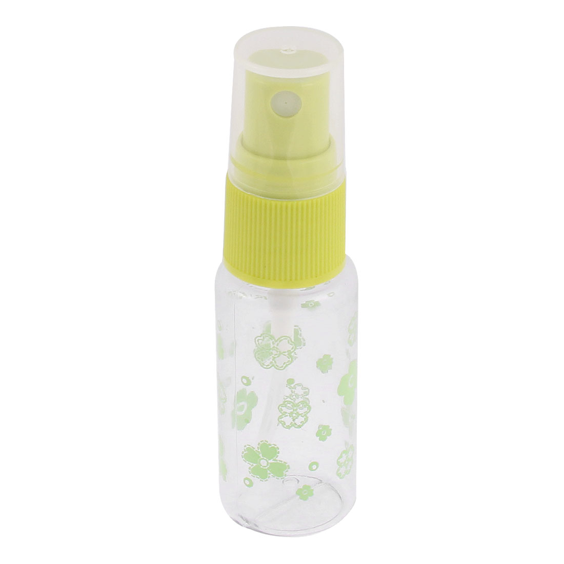 Cosmetic Makeup Perfume Liquid Container Spray Bottles 15ml Lime Clear