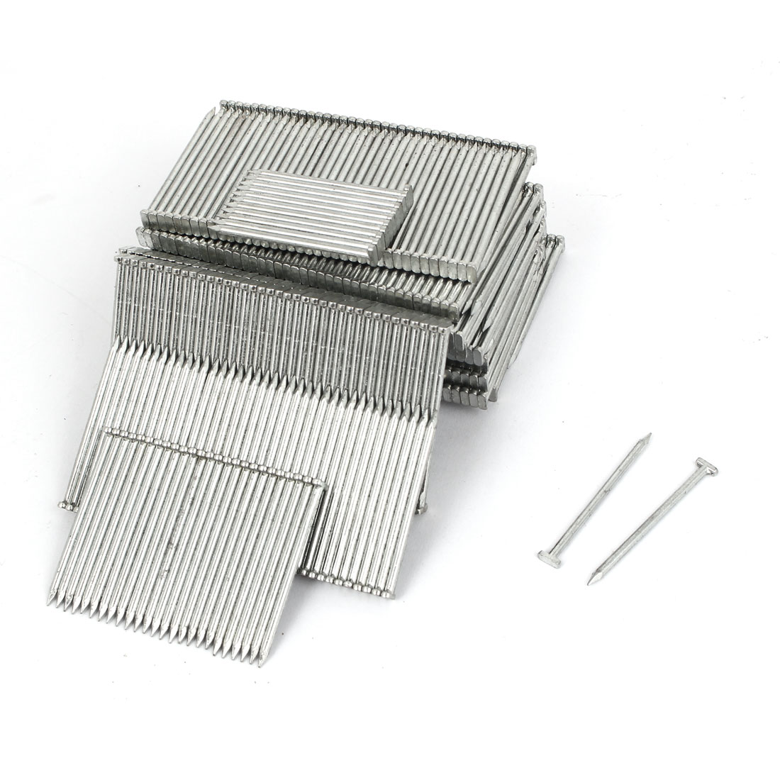 Decorative Steel T45 Brad Nails Silver Tone 41mm Length 874PCS