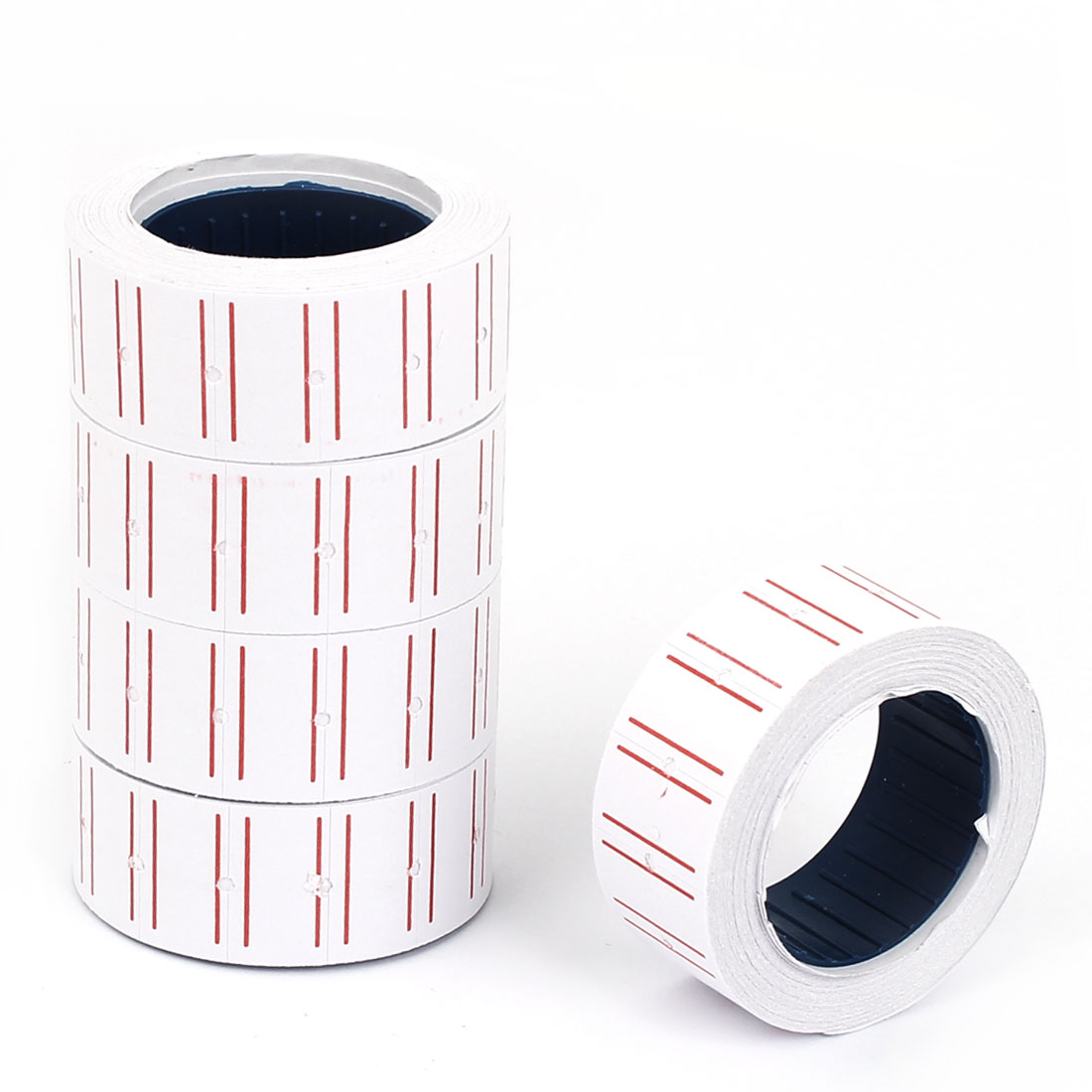 Receipt Printer Thermal Printing Paper Roll Pink White 105mm Long