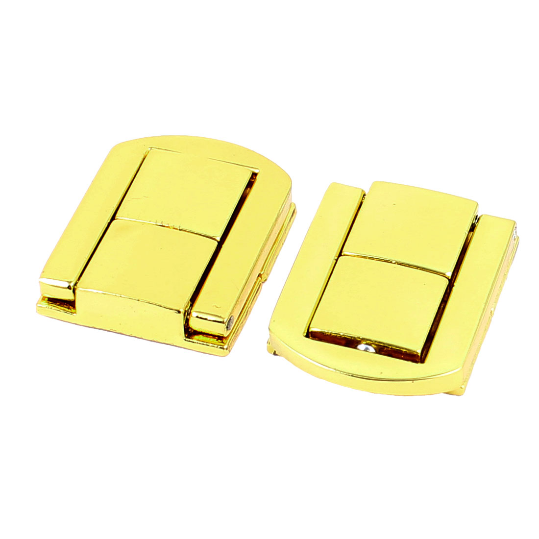 Jewelry Boxes Latch Gift Case Latches Small Box Hardware Gold Tone 2PCS