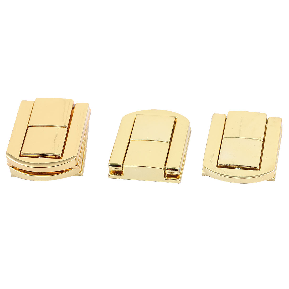 Boxes Latch Gift Case Latches Box Hardware Gold Tone 4PCS