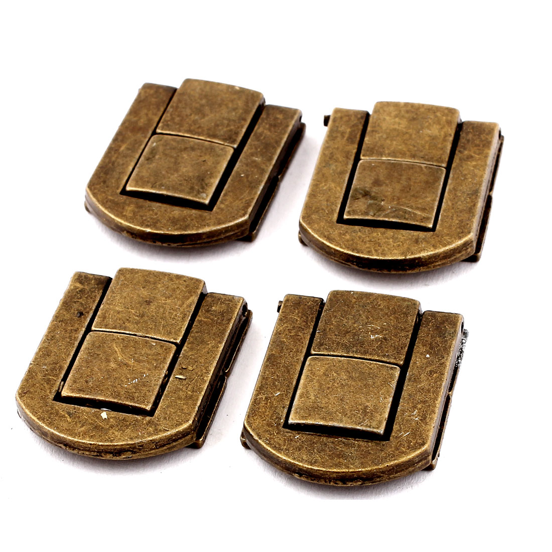 Guitar Musical Cases Cabinet Drawbolt Closure Latch Bronze Tone 4PCS