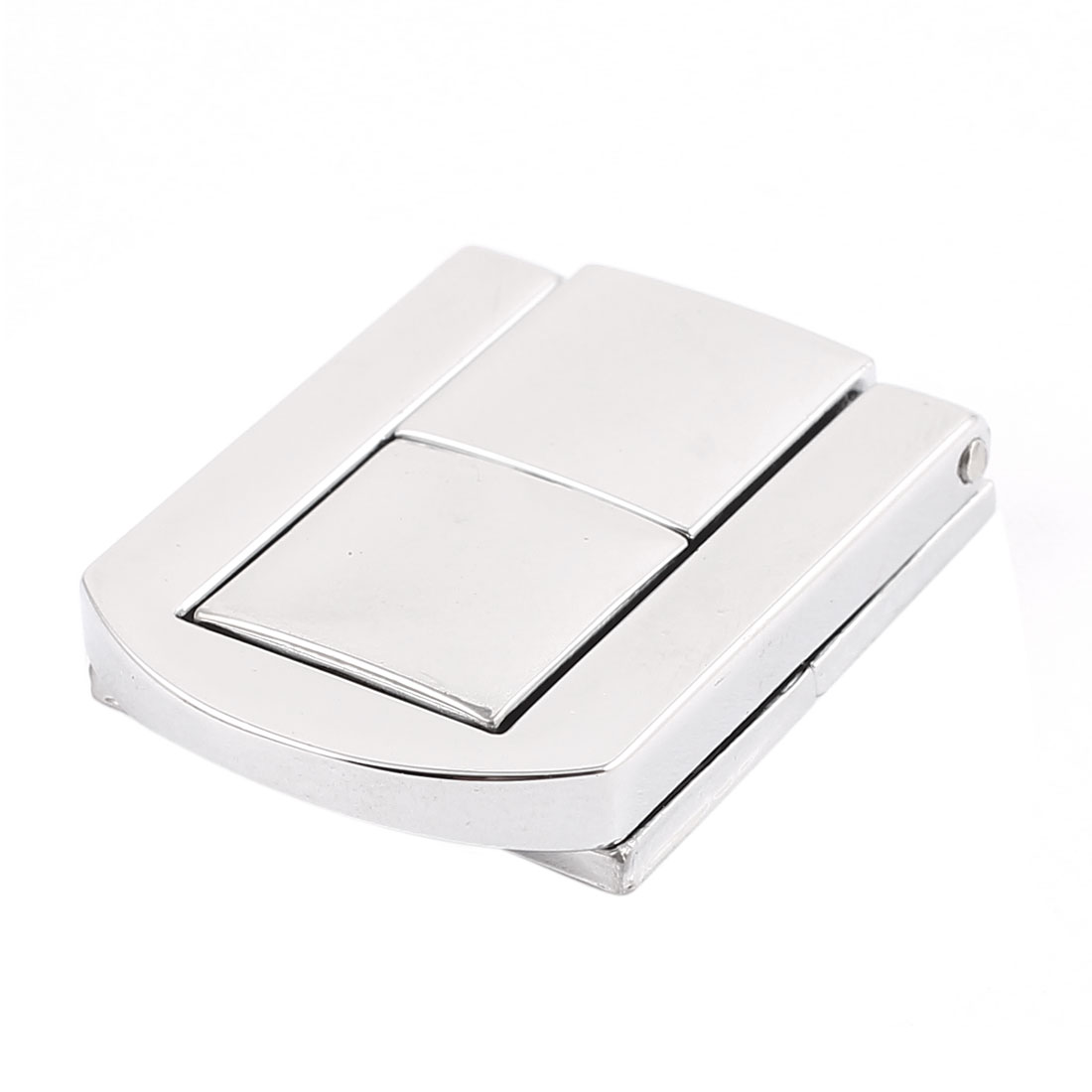 30mm x 25mm Latch Suitcase Box Guitar Case Drawbolt Closure Silver Tone