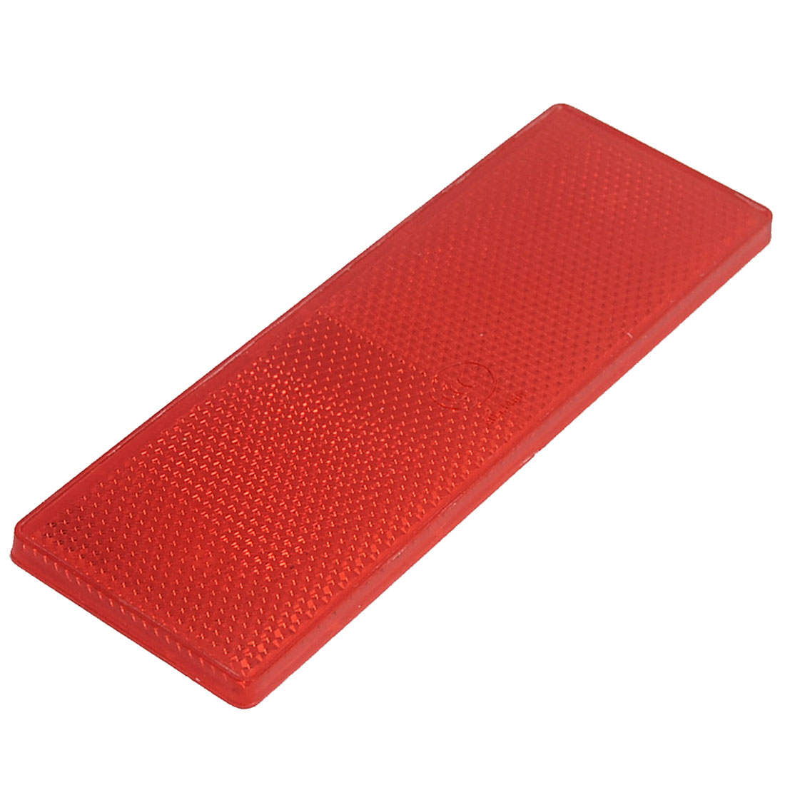 Plastic Rectangle Reflective Warning Reflector Red for Vehicle Safety