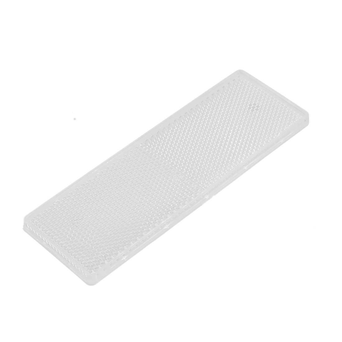Plastic Rectangle Reflective Warning Reflector White for Vehicle Safety