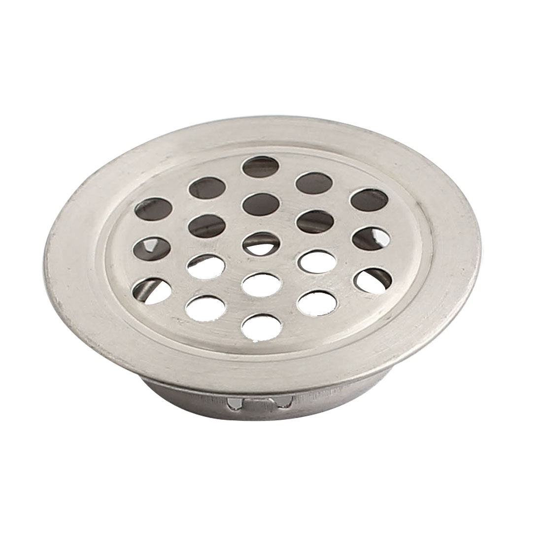 Perforated Flat Round Mesh Air Vent Ventilation Louvers 25mm Bottom Dia