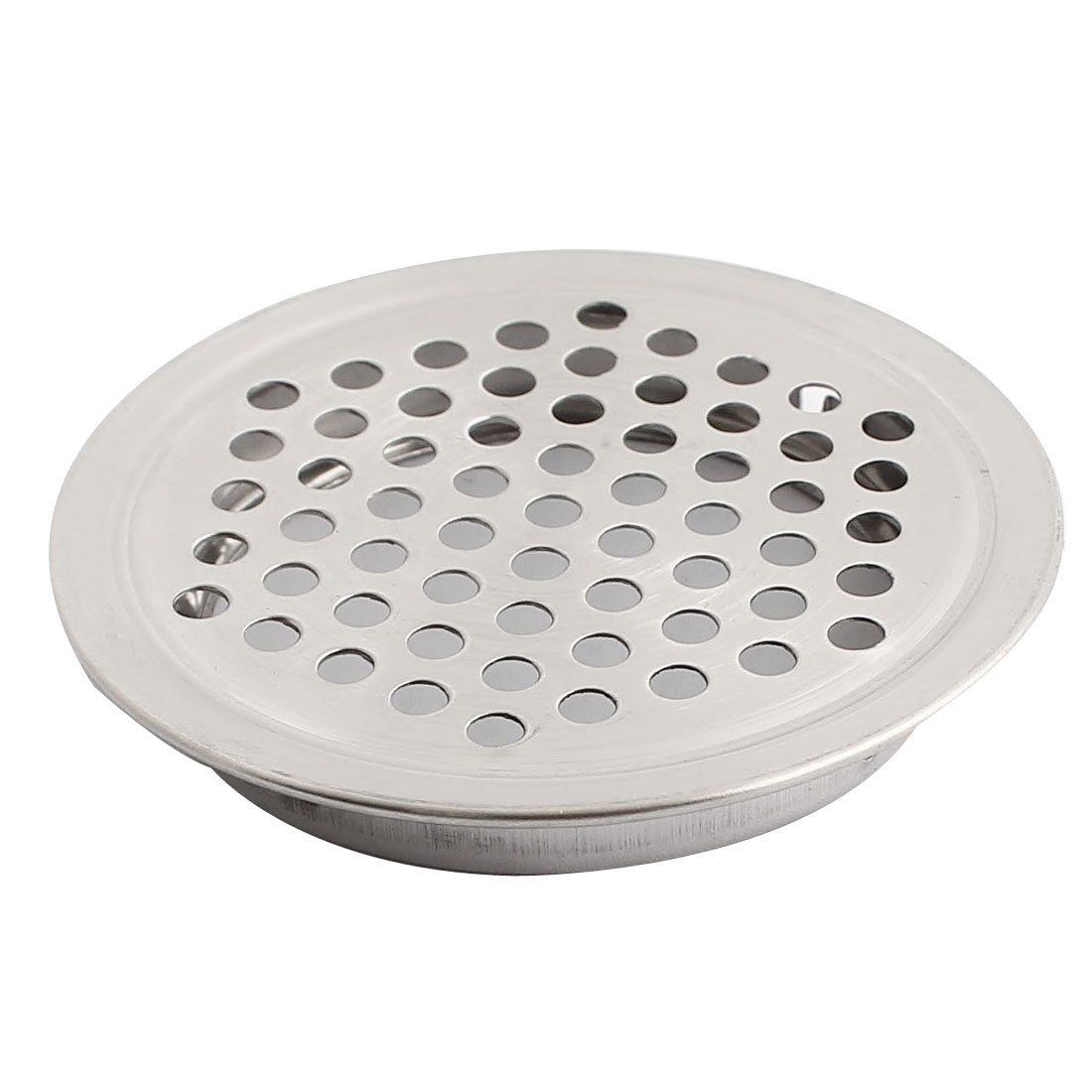 Shoes Cabinet Cupboard 53mm Bottom Dia Air Vent Cover Silver Tone