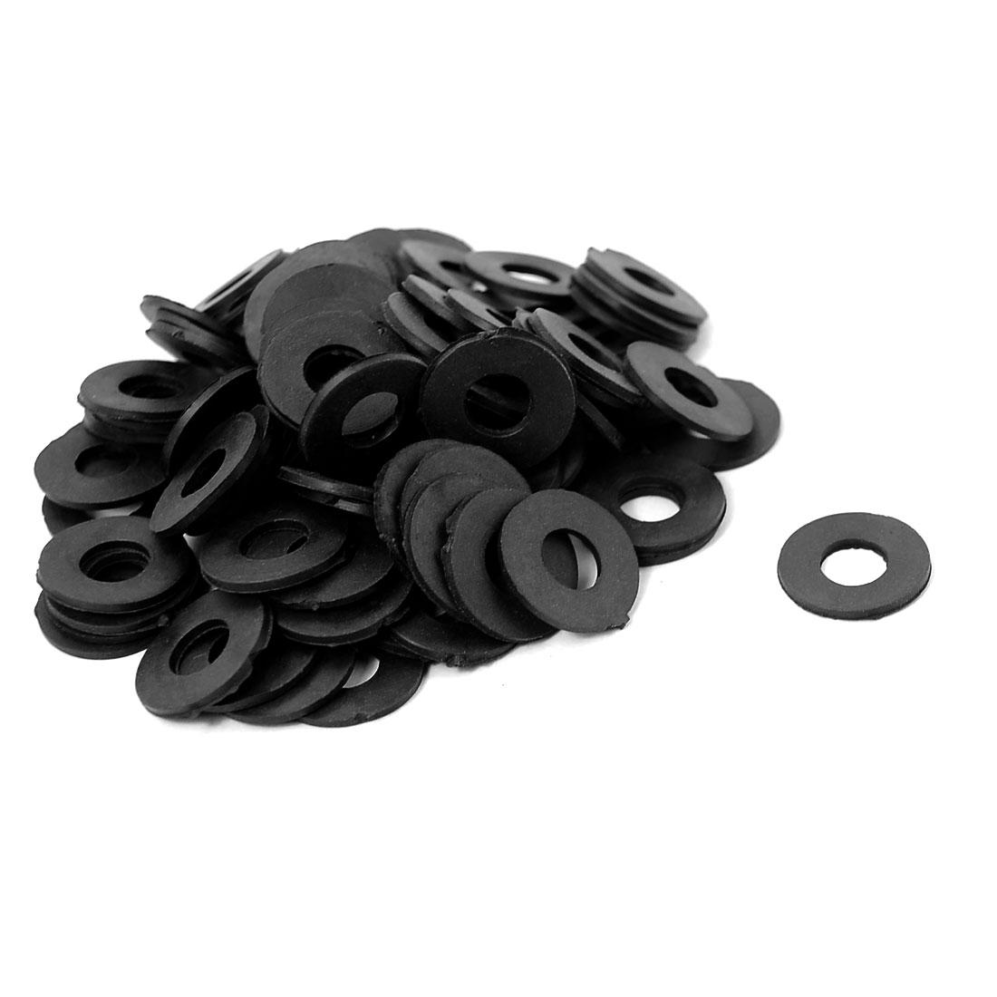 18mm x 8mm x 2mm Rubber O Ring Seal Tap Sink Water Tube Sealing Gasket 100PCS