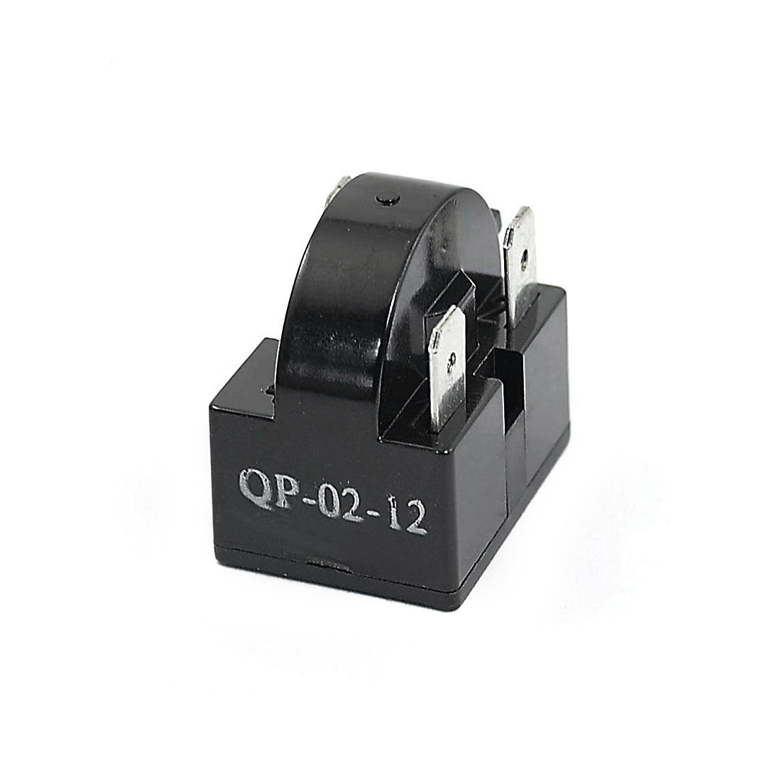 12 Ohm 3 Pins Refrigerator PTC Starter Compressor Relay Black