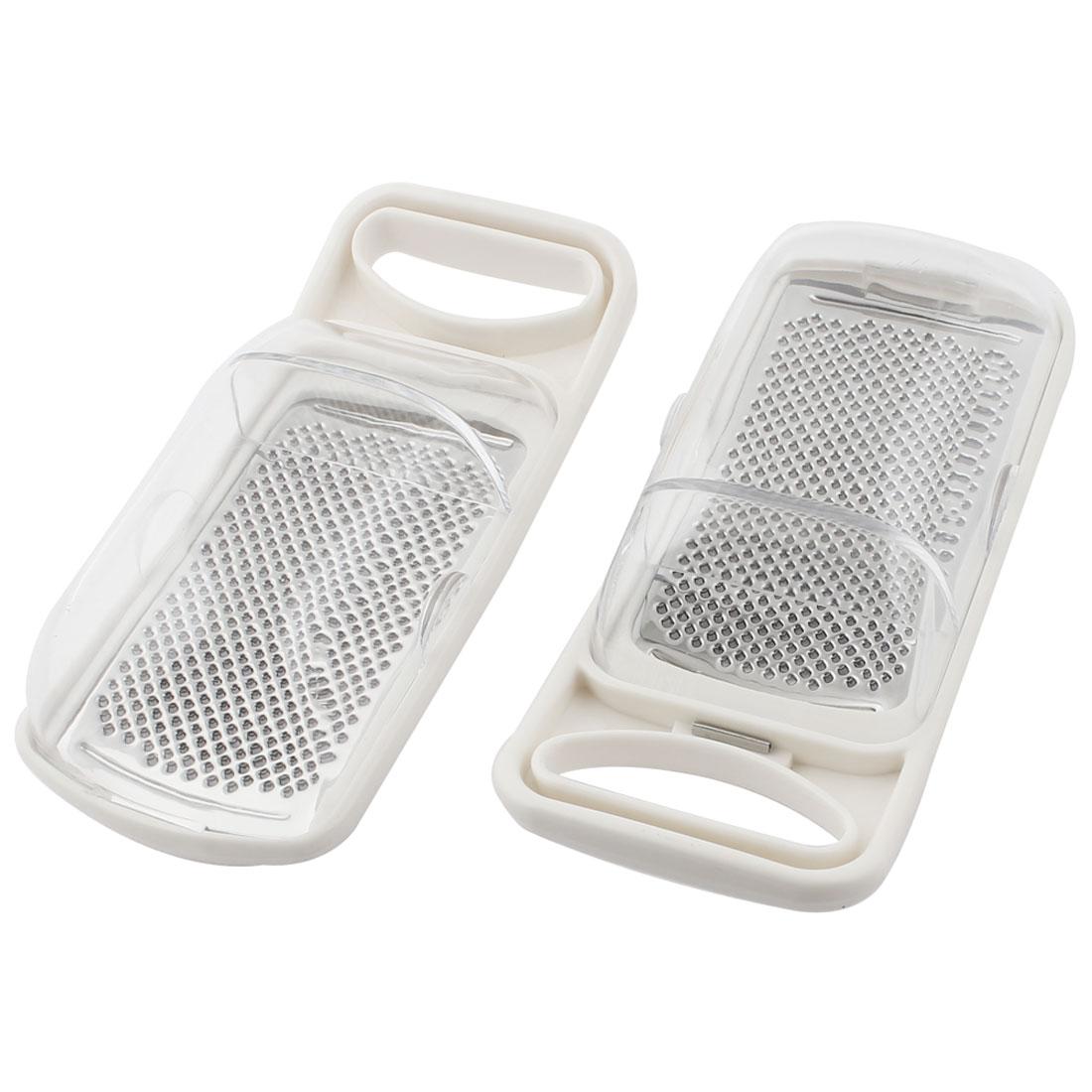 Kitchenware Plastic Grip Fruit Vegetable Grater Peeler Slicer 2PCS
