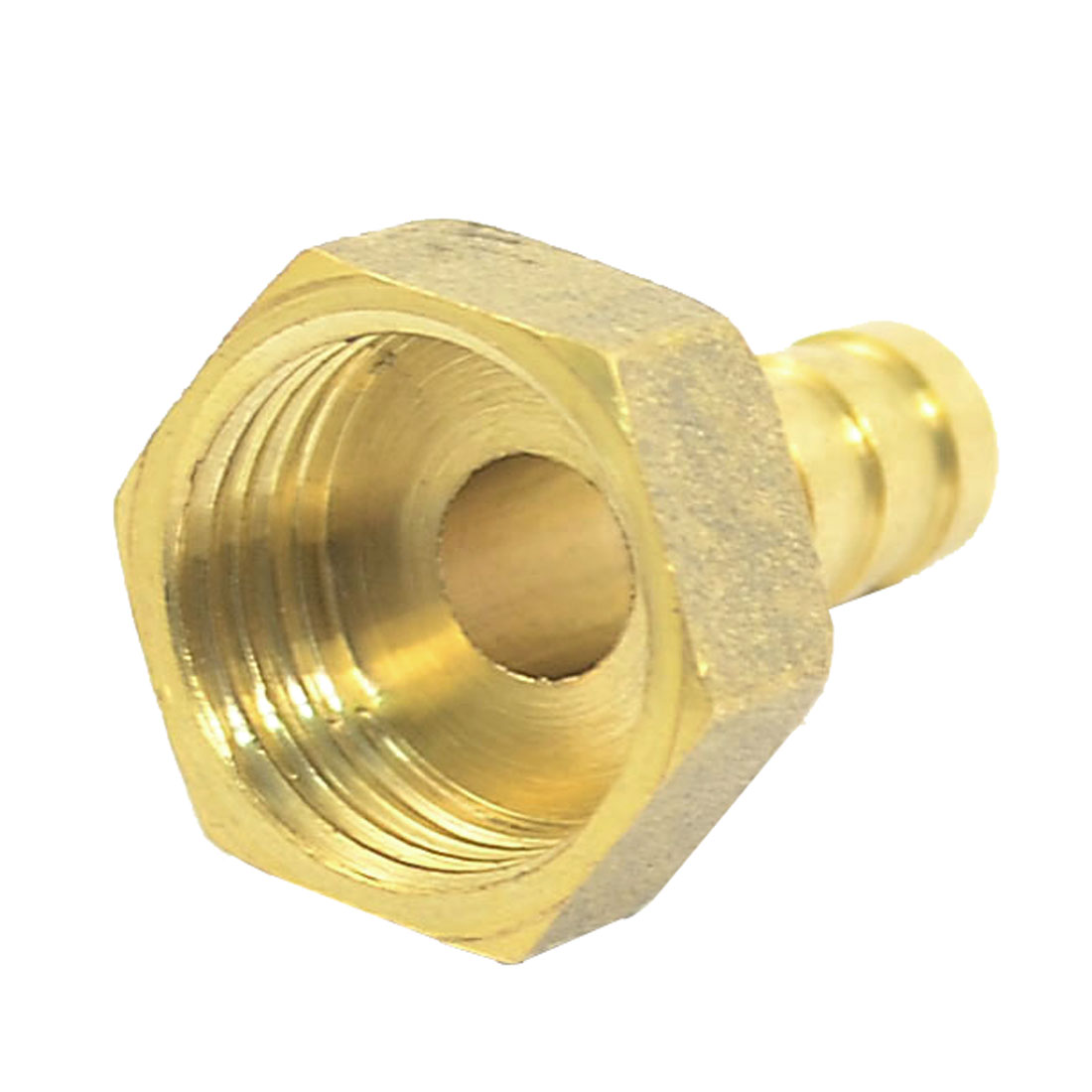 Garden Tap Hose Water Pipe Connector Female Threaded Adaptor Fitting Brass Tone