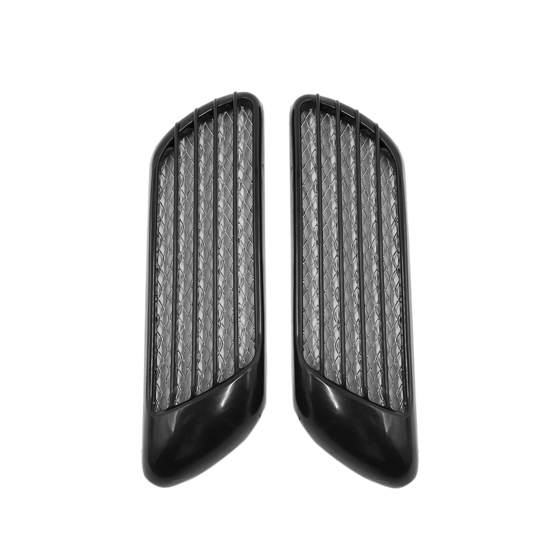 Car Vent Fender Hole Cover Side Air Flow Intake Grille Duct Decor Sticker Pair