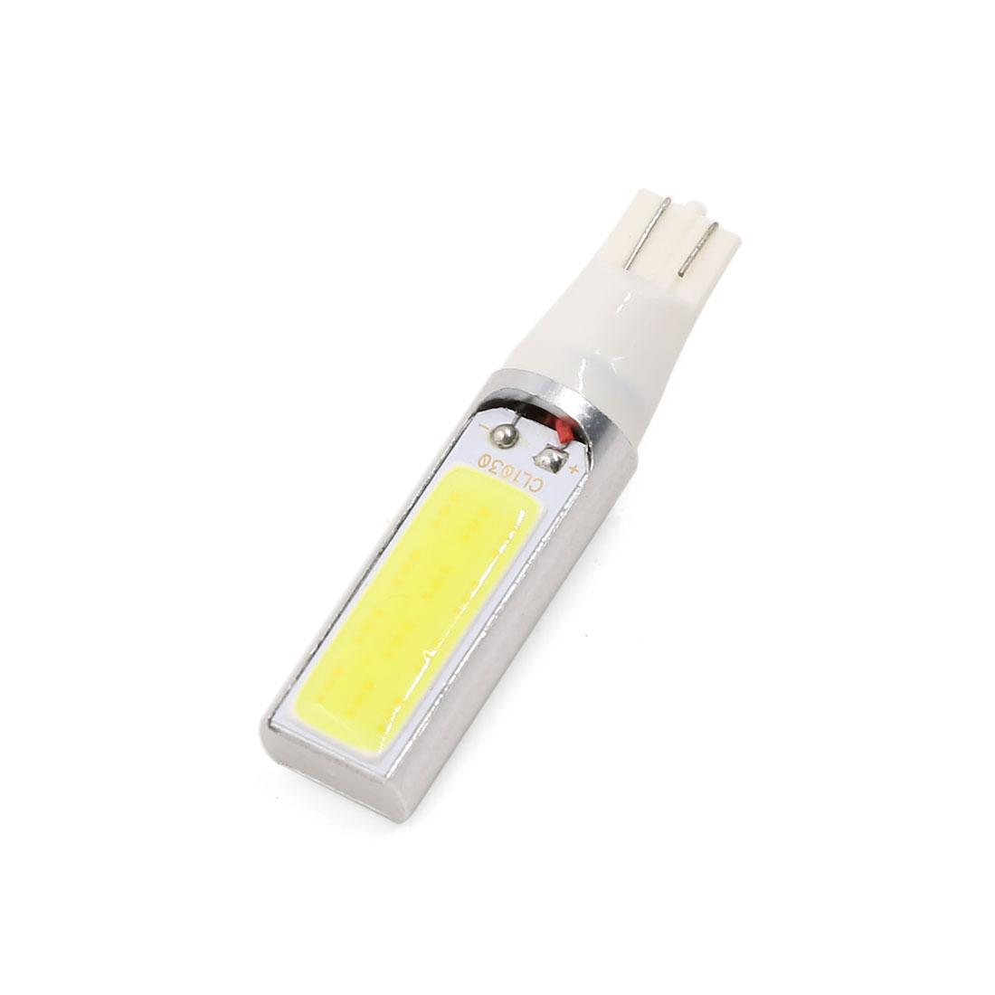 DC 12V 15W T10 194 168 W5W COB White LED Light Backup Fog Brake Lamp Interior