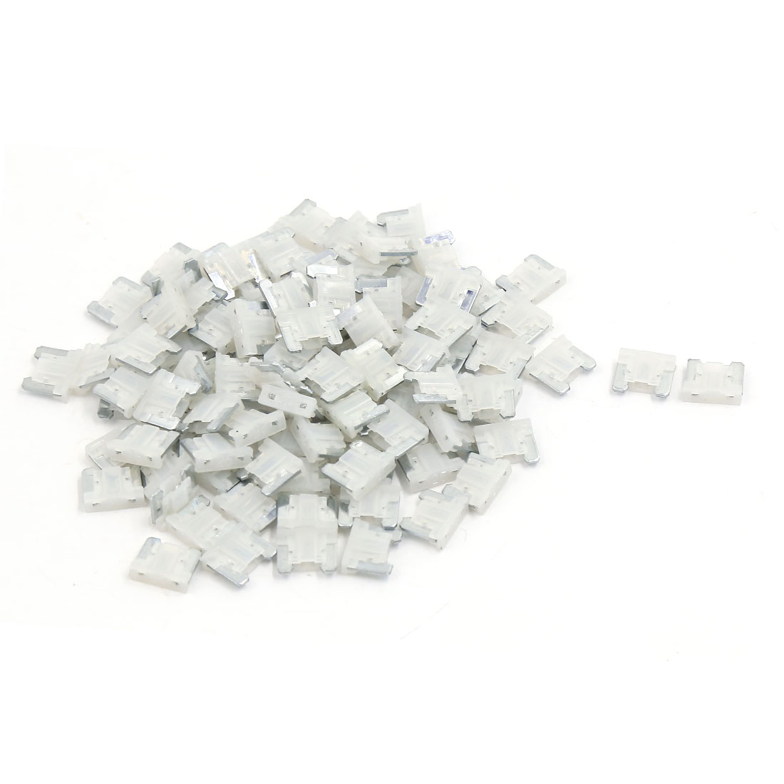 101 Pcs 25A Automotive Car Auto Caravan Truck ATC ATO Mini Blade Fuse White