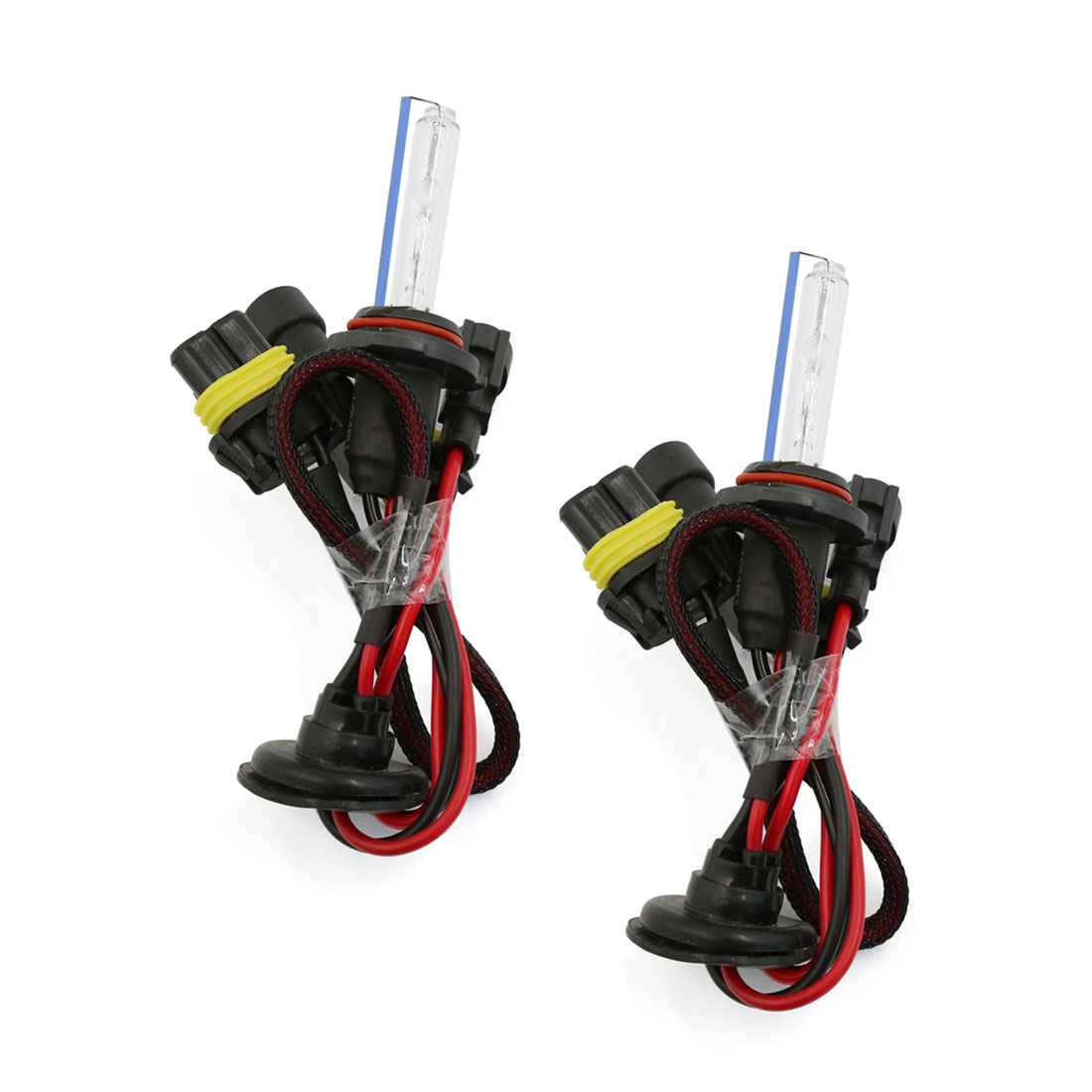 2 Pcs DC 12V 35W 8000K 9006 Car HID Xenon Bulb Headlight Lamp White Internal