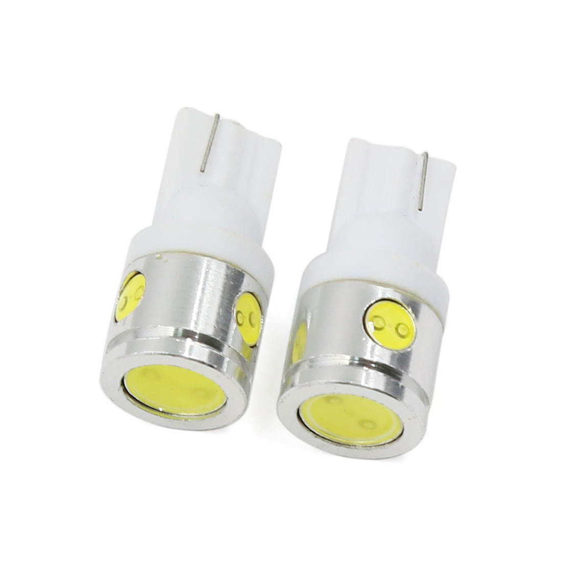 2 Pcs T10 W5W High Power 2.5W White LED Backup Reverse Lights Bulb 192 921