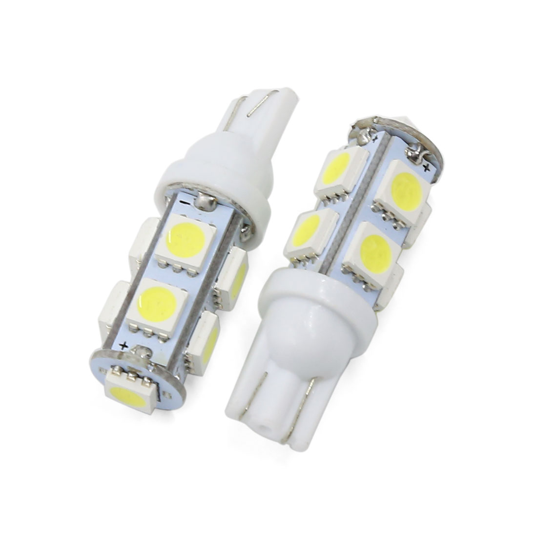 Pair T10 194 168 W5W 9 LED SMD White Car Side Wedge Light Lamp Bulb Interior