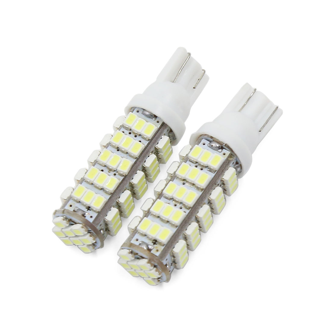 2pcs T10 68 SMD LED Wedge Light Turn Corner Tail Stop Bulb White 12V Interior
