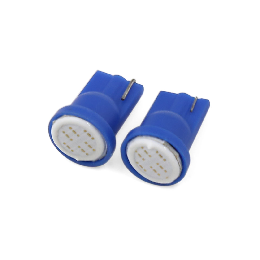 Pair T10 Blue COB LED Instrument Panel Light Indicator Lamp Bulbs 2 Pcs Interior