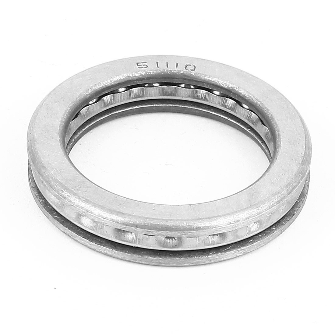 2 Pcs 51110 Axial Ball Single Thrust Bearing 70mm x 50mm x 14mm Silver Gray