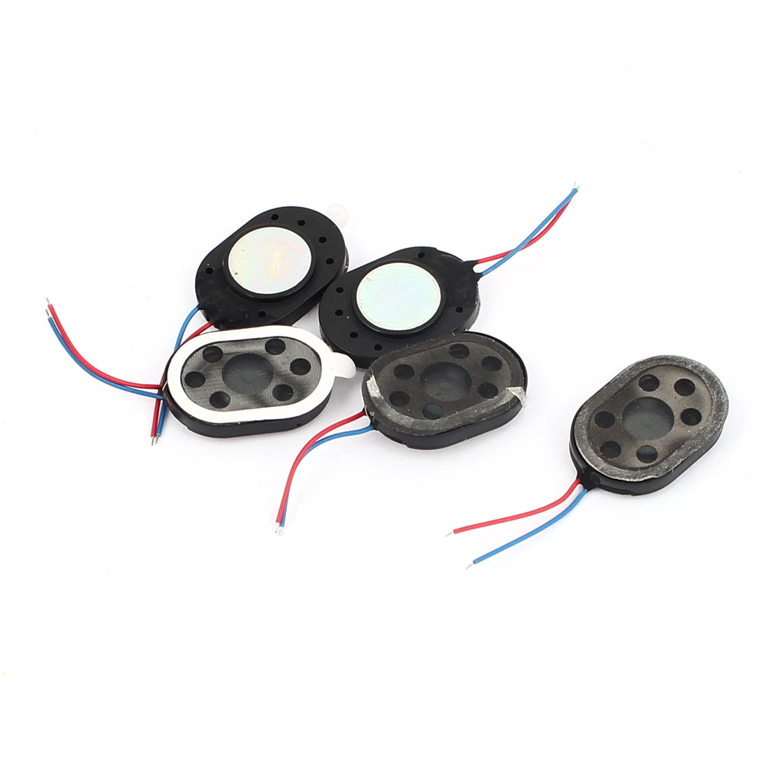 14mmx20mmx4mm 8 Ohm 1W Magnet Speakers Amplifier Horn for Computer 5 Pcs
