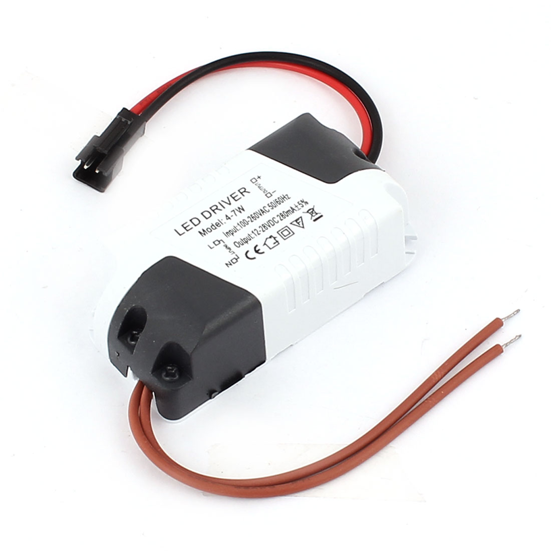 AC100-260V to DC12-28V 4-7W Transformer Ceiling Lamp LED Driver Power Supply