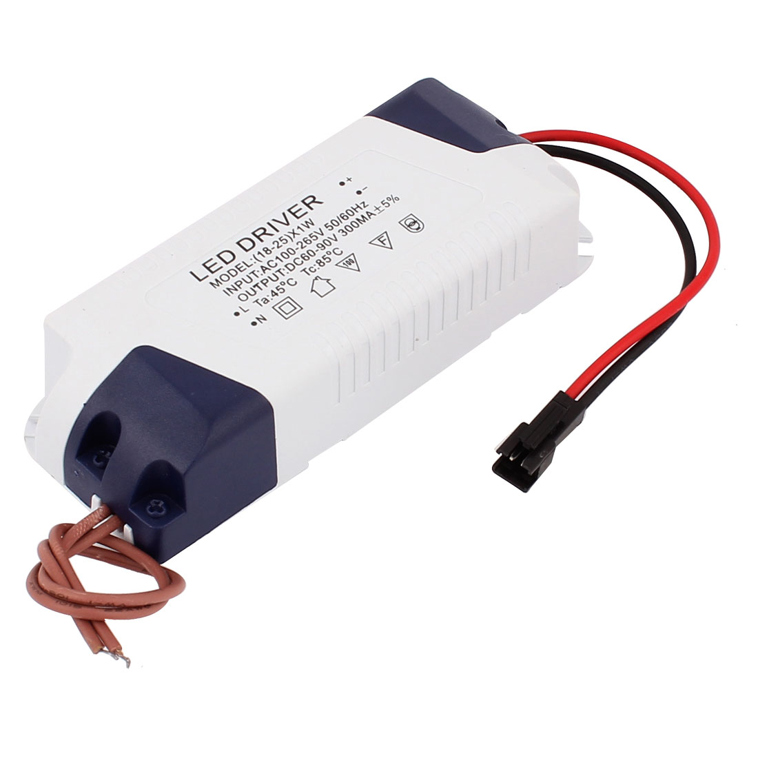 AC100-265V to DC60-90V 18-25W Transformer Ceiling Lamp LED Driver Power Supply