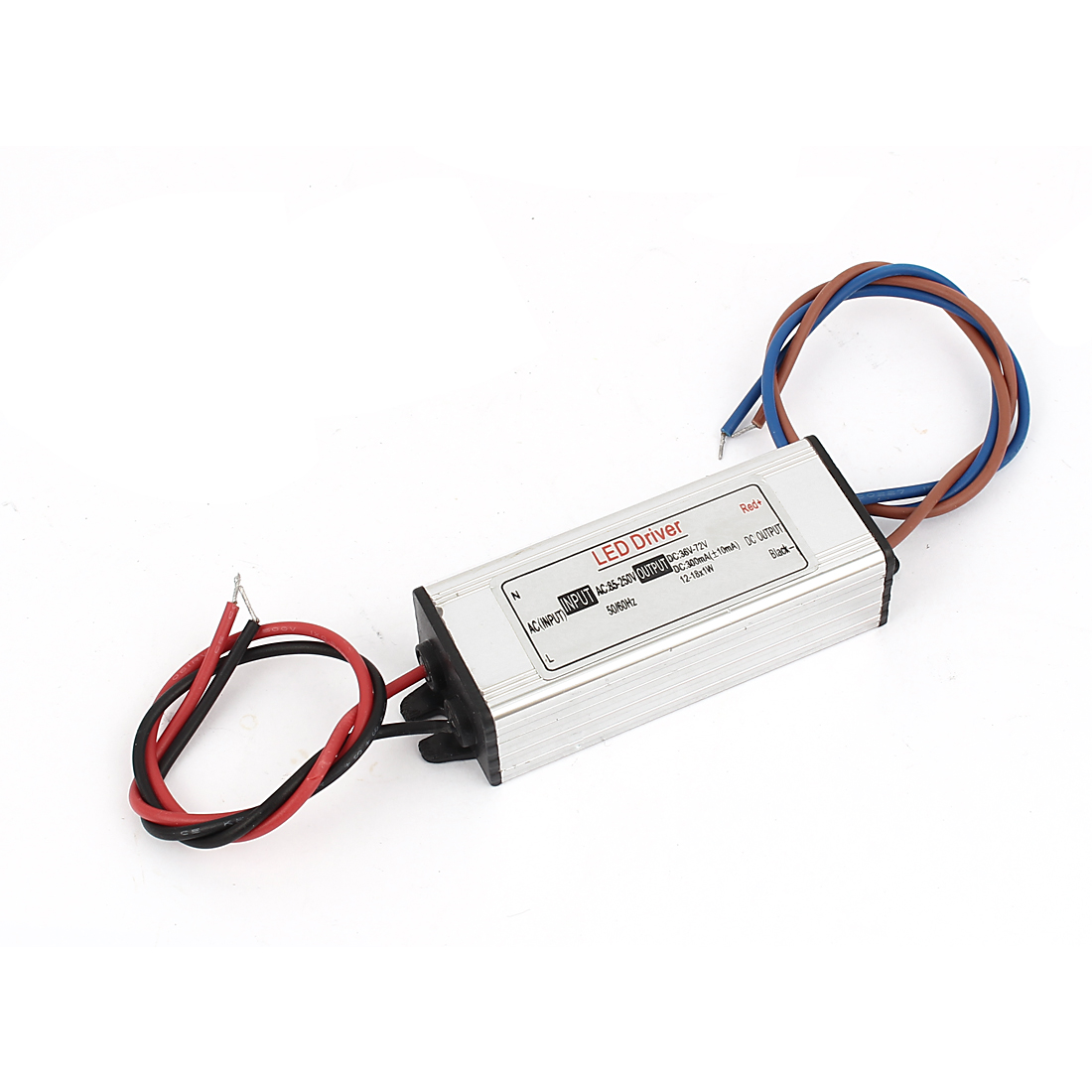 AC85-250V to DC36-72V 12-18x1W Transformer LED Driver Power Supply