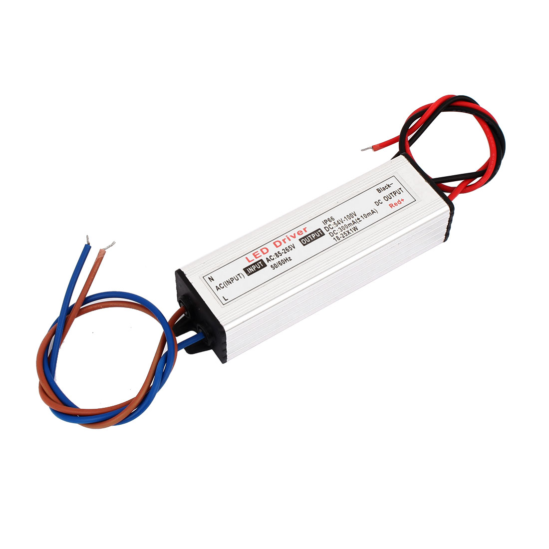 AC85-265V to DC54-100V 18-25W Transformer Waterproof LED Driver Power Supply