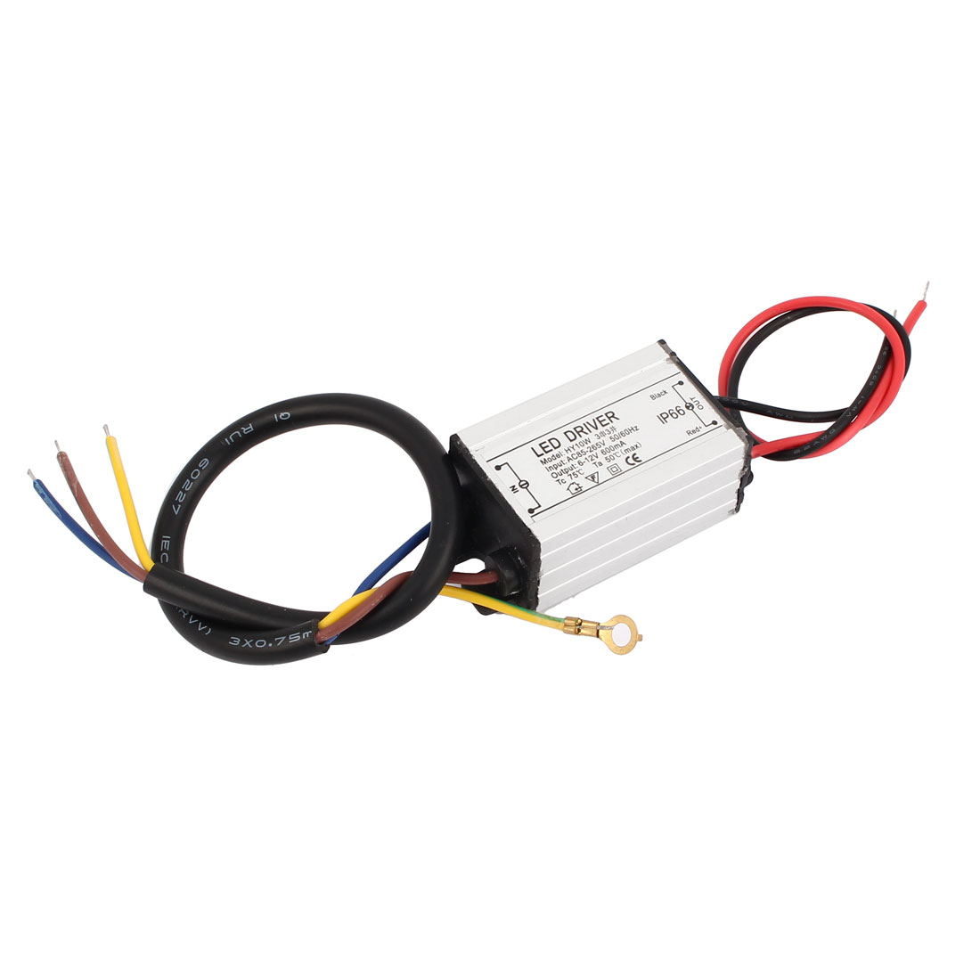 AC85-265V to DC6-12V 10W Transformer Waterproof LED Driver Power Supply
