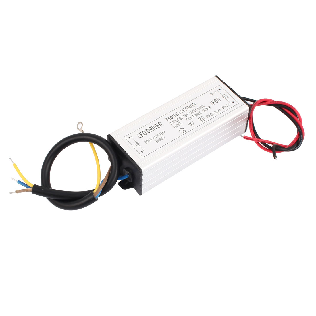 AC85-265V to DC20-38V 60W Transformer IP66 LED Driver Power Supply